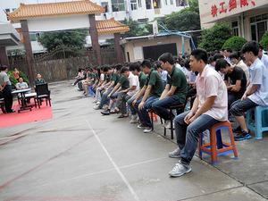 """2017年春节后,广州真皮皮具加工厂家——旭源的""""家人们""""归来,欢聚一堂!"""